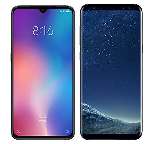 Smartphone Comparison: Xiaomi mi 9 vs Samsung galaxy s8 plus