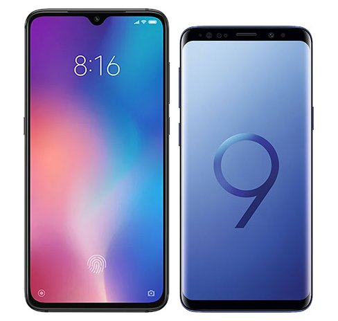 Smartphone Comparison: Xiaomi mi 9 vs Samsung galaxy s9