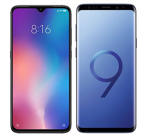 Smartphone Comparison: Xiaomi mi 9 vs Samsung galaxy s9 plus