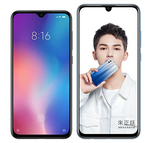 Smartphone Comparison: Xiaomi mi 9 se vs Honor 10 lite