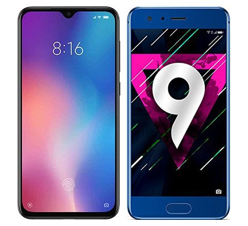 Smartphone Comparison: Xiaomi mi 9 se vs Honor 9