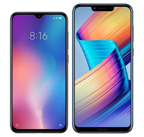 Smartphone Comparison: Xiaomi mi 9 se vs Honor play