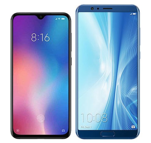 Smartphone Comparison: Xiaomi mi 9 se vs Honor view 10