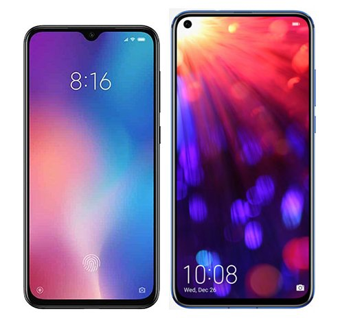 Smartphone Comparison: Xiaomi mi 9 se vs Honor view 20