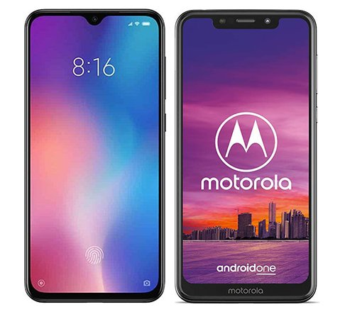Smartphone Comparison: Xiaomi mi 9 se vs Motorola one