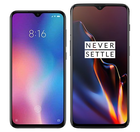 Smartphone Comparison: Xiaomi mi 9 se vs One plus 6t