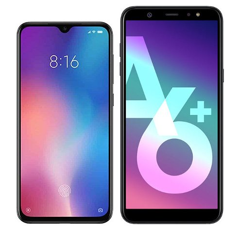 Smartphone Comparison: Xiaomi mi 9 se vs Samsung galaxy a6 plus