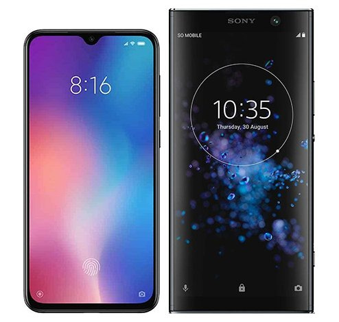 Smartphone Comparison: Xiaomi mi 9 se vs Sony xperia xa2 plus