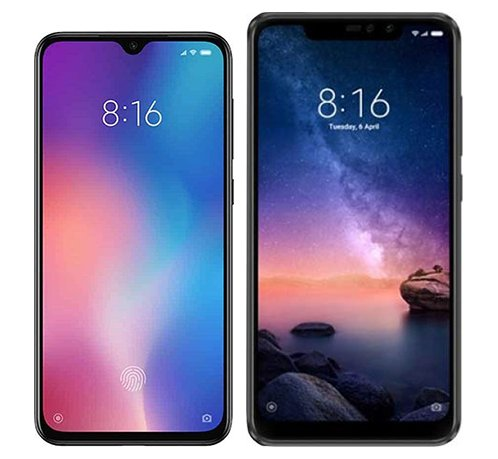 Smartphone Comparison: Xiaomi mi 9 se vs Xiaomi redmi note 6 pro