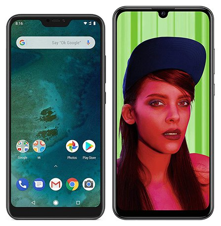 Smartphone Comparison: Xiaomi mi a2 lite vs Huawei p smart plus 2019