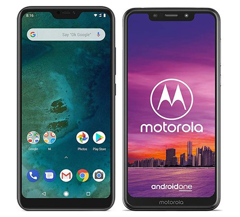Smartphone Comparison: Xiaomi mi a2 lite vs Motorola one