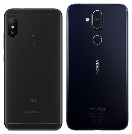Mi A2 Lite vs Nokia 8.1. View of main cameras