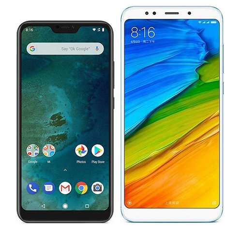 Smartphone Comparison: Xiaomi mi a2 lite vs Xiaomi redmi 5 plus