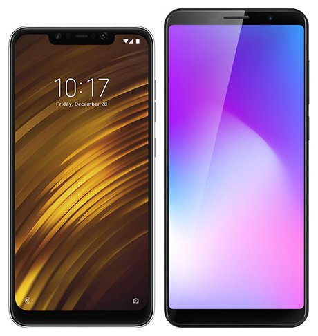 Smartphone Comparison: Xiaomi pocophone f1 vs Cubot power