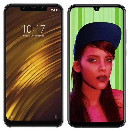 Smartphone Comparison: Xiaomi pocophone f1 vs Huawei p smart plus 2019