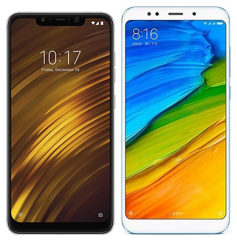 Smartphone Comparison: Xiaomi pocophone f1 vs Xiaomi redmi 5 plus